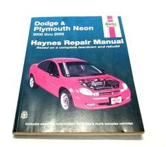 Repair Manual  Haynes 30036 Dodge Plymouth Neon 00-05 - $14.69