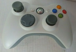Official Microsoft Xbox 360 WHITE Wireless Controller Genuine Original OEM - $16.83