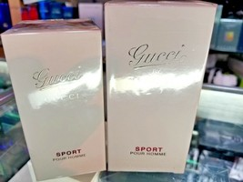 Gucci by Gucci SPORT Pour Homme EDT Spray Men 1.7 oz 50 ml or 3 oz 90 ml SEALED - $129.89