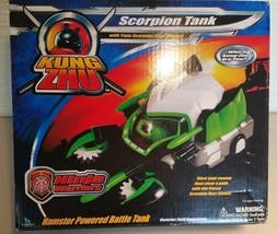 Kung-Zhu-Scorpion-Tank-KungZhu-Ninja-Warriors-Hamster-Powered-Battle-Tank-88312 - $7.91