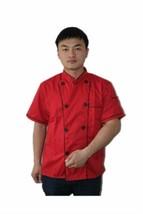 Short Sleeve Classic Kitchen Cook Chef Waiter Waitress Coat Uniform Jack... - $18.37