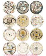 zodiac sign charts horoscope art clipart digital downloadable collage sh... - $2.75