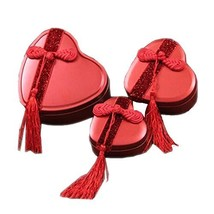 Gift Boxes Candy Boxes Red Decor for Wedding Gifts and Ornament - $19.19