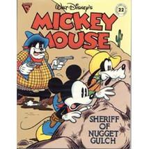 Walt Disney's Gladstone Comic Album #22 Mickey Mouse Sheriff Nugget Gulch VFN+ - $6.89