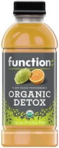 Function Organic Detox , Citrus Prickly Pear, 16.9oz Pack of 12