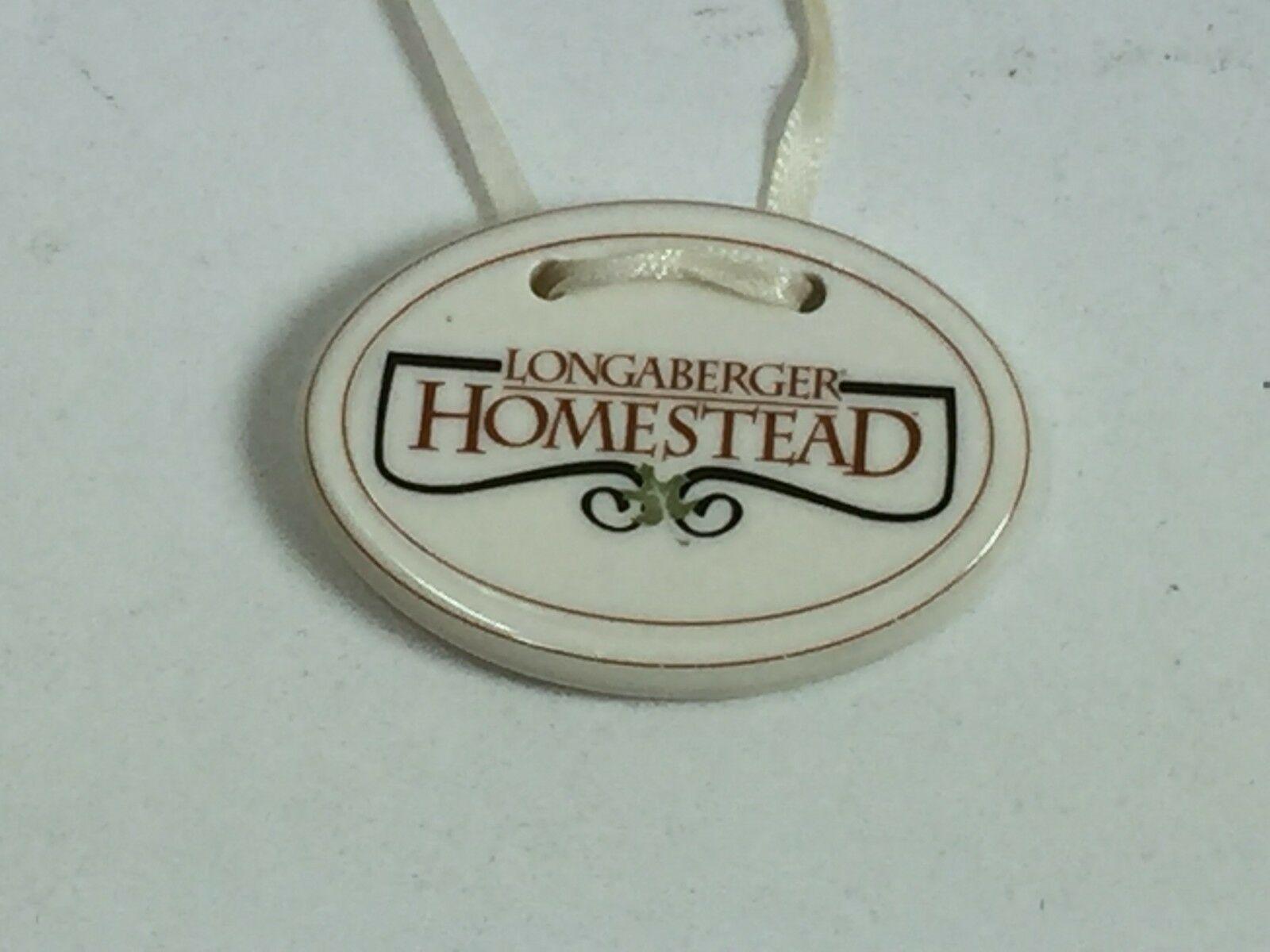 Longaberger Homestead Basket Tie On Only 24000 - $7.42