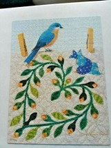 "Milton Bradley ""Bluebird On Floral Wreath"" 750 Piece Puzzle Complete - $16.95"