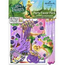 Tinkerbell and Fairies Party Favors Mega Value Pack 48 Pc Tinker Bell Bi... - $10.84