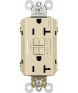 (New) Legrand GFCI Outlet, Heavy Duty  20A  Ivory - $23.75