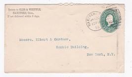 OLDS & WHIPPLE HARTFORD, CONN. JANUARY 30 1895 - $2.98