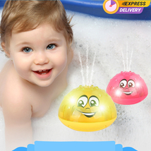 Bath Toy Spray Water Can Drifting Rotate With Shower Pool Toy for Toddle... - $13.85+