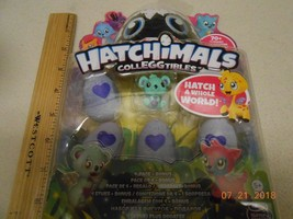 NEW Hatchimals Colleggtibles Mini 4 Pack Bonus Hatchimal Season 1 Valent... - $18.80