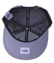 Asphalt Yacht Club Bermuda Triangle Black Grey 5 Panel Snapback Baseball Hat NWT image 7