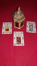 Andalusian Gypsy Tarot. Reading With Three Cards - $13.99