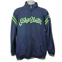 Ecko Unltd Actual Factual Jacket Mens Size XL Blue - $51.98