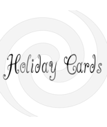 Holiday Cards Font 3smp-Digital ClipArt-Art Clip-Gift Tag-Holiday - $2.50