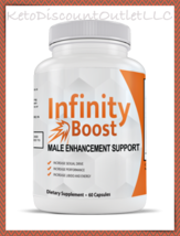 INFINITY BOOST Male Enhancement Supplement 60ct Increase Strength & Growth! - $39.95