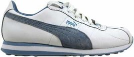 Puma Turin Leather White/Blue Fog 342381 08 Women's - $45.07