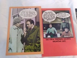 Vintage Lot 22 Star Trek Greeting Card Birthday Easter Get Well Soon Spock image 2
