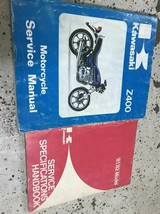 1978 1979 1980 1981 1982 KAWASAKI Z400 Service Repair Shop Manual OEM Set + - $59.35