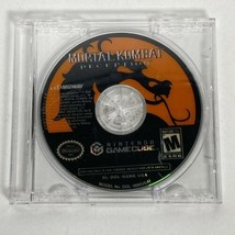 Mortal Kombat Deception Nintendo GameCube 2005 Disc Only Tested - $37.39