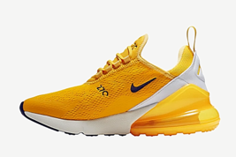 "Nike Air Max 270 Running Shoes for Men ""Yellow / White"" image 2"
