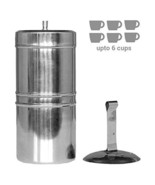 Kitchen Mart Stainless Steel South Indian Filter Coffee Drip Maker, 600m... - $26.24