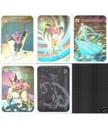 Marvel Universe Series 1 Complete 5 Hologram Trading Card Set 1990 - $42.99
