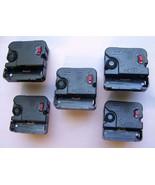 5 Quartz Non Pendulum Movements Mini style AA Battery 3/8 Inch Dial Thic... - $19.99