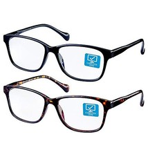 K KENZHOU Blue Light Blocking Computer Glasses 2 Pack Anti Eye Eyestrain... - $21.09