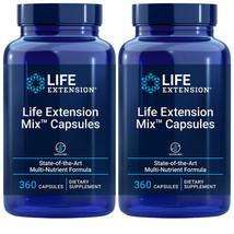 Life Extension Mix Capsules 2X360Caps Multivitamin Vitamin E/Amino Acid/... - $82.12