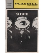 """National Theatre Playbill """"SLEUTH"""" October 1972 by Anthony Shaffer - $3.00"""