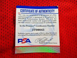 CLYDE DREXLER / NBA HALL OF FAME / AUTOGRAPHED TRAIL BLAZERS CUSTOM JERSEY / COA image 6