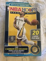 2019/20 Panini Hoops Premium Stock NBA Basketball HANGER box (20 cards/box) - $58.95