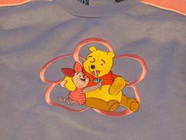 Pooh Disney Mädchen 4 Vlies Sweatshirt Lavendel Rosa Neu Nwot - $4.81