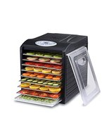"""Samson """"Silent"""" 9 Stainless Steel Tray Dehydrator with Digital Controls - $149.95"""