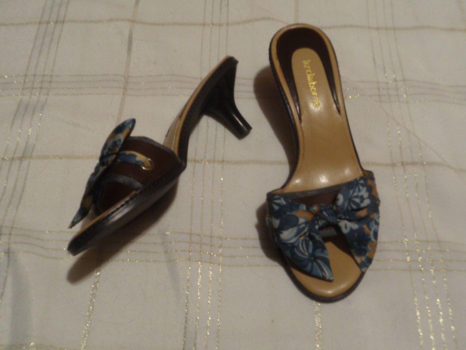 72caf79d5d liz claiborne cuba brown leather bow heels and 49 similar items