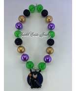 Maleficent Clay Chunky Bubblegum Necklace - $28.99