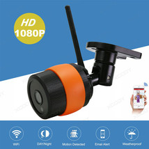 Wireless 1080P WiFi IP Outdoor Network Camera Security Waterproof Night ... - $64.90