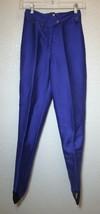 OBERMEYER Purple Ski Pants Stirrups Stretchy Snowboard Snow Winter Women XS - $39.60