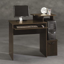 Modern Computer Student Desk Workstation w/ Keyboard Tray Printer Shelf ... - $64.83