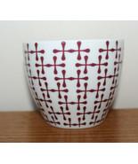 Starbucks 2010 New Bone China Stackable Nesting Coffee Tea Mug Cup No Ha... - $25.74