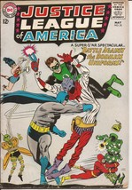 DC Justice League Of America #35 Battle Against The Bodiless Uniforms - $14.95