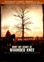 BURY MY HEART AT WOUNDED KNEE NEW DVD - $26.90