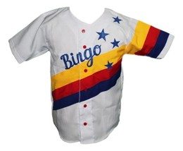Bingo Long Traveling All Stars Movie Baseball Jersey Button Down White Any Size image 1