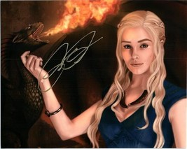 EMILIA CLARKE  Autographed Authentic Signed Photo w/COA - 72506 - $95.00