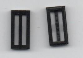 Four Black LEGO 1x2 Vent - Basic Building Set. - $1.39