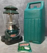Vintage January 1995 New in Teal Case Coleman 288A700 Lantern 100% Origi... - $149.99