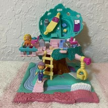Bluebird Vintage Polly Pocket 1994 Tree House & Dolls Playset *Complete - $69.99
