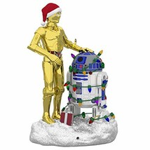 Christmas 2019 Year Dated Star Wars C-3PO and R2-D2 Peekbuster Motion-Ac... - $35.20